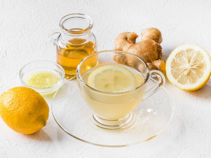 Cure In A Cup - The ingredients vary a little from person to person but the staple here is ginger boiled in water. I then like to add lemon, honey, and cayenne.