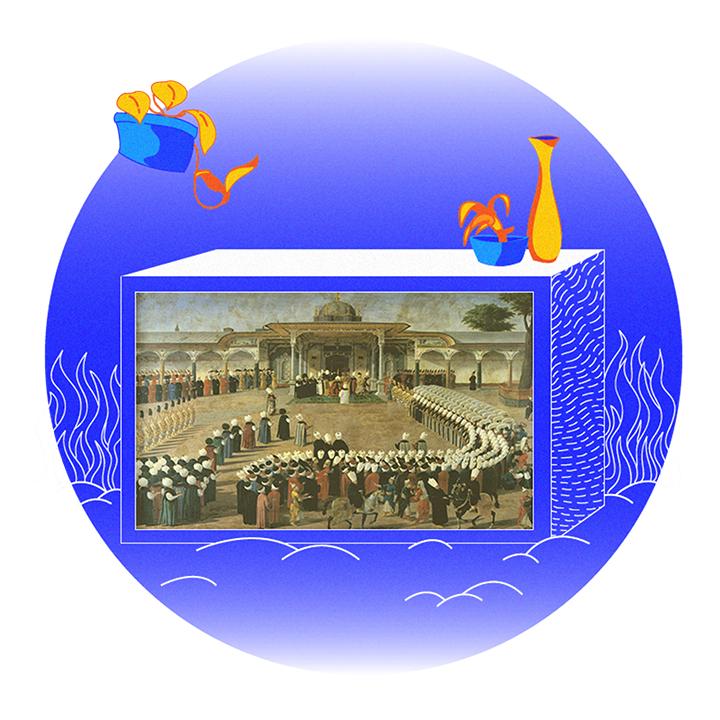 Telescreen of the Sultan