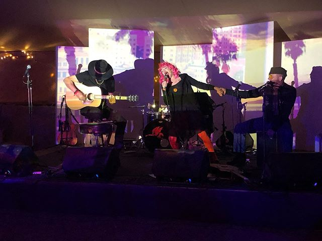 @guitarjost @suzys.fb @stobology #LIVE onstage @fieldtrippinfest #vidart @konceptfilms