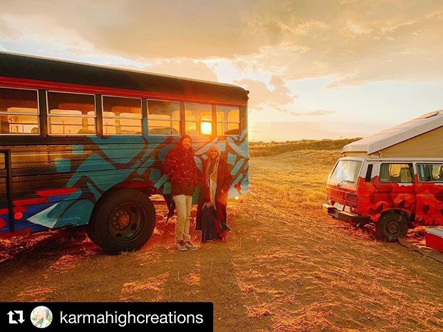 """memories last a lifetime"" #gratitude @karmahighcreations for these #images and for being a part of year 3!!! see you next year one the mesa!!! #Repost @karmahighcreations with @get_repost ・・・ Want to give a big thanks again to @fieldtrippinfest and @highdeserthempfest for keeping the Taos scene raw and real!! @__colibrilla__ and I had a good 'ol time, with the wind, the sun, the cold, and the warmth of the beautiful people. We appreciated all the love and support we got in our booth and as always value the connections, both locally and far away. May the spirit of the wild people live on! We see you. AoooAoooo!! 🐺💓💓 #fieldtrippin #festivalvibez #taosnewmexico #nmtrue #coolbuses #vanpeople #funphotography #karmahighcreations  #recycledart #wildspirits #highdesertlife #therealness #fieldtrippinfest2019"