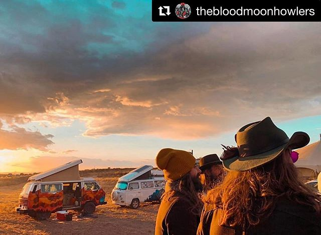 @thebloodmoonhowlers courtesy of @karmahighcreations the #festival is over for this year, but the memories live on!  thank you all!!! it was #epic!!! #Repost @thebloodmoonhowlers with @get_repost ・・・ First pic from #fieldtrippinfest2019 more to come 💜💚thank you for this 📸 @karmahighcreations great to hang with you and @__colibrilla__ ✌️