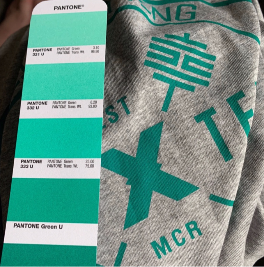 Prints - Holly's been working with some brand new additions to the clothing range with some pretty fresh ink colours.Keep an eye on our social media pages for updates