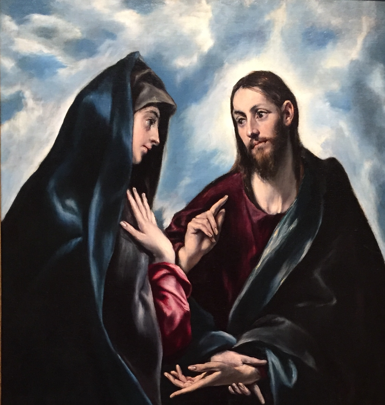 Christ Taking Leave of His Mother by El Greco