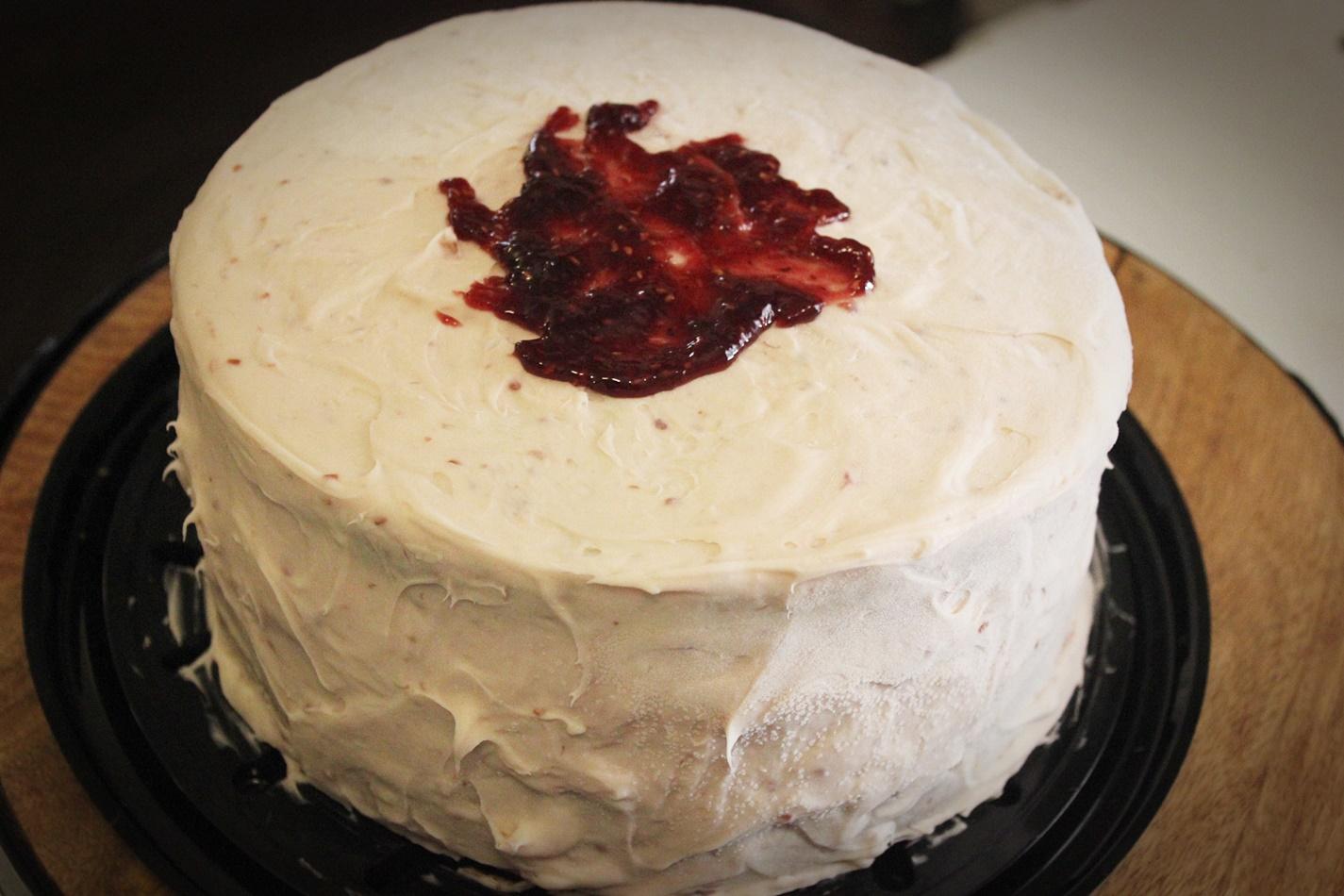 Strawberry(or Raspberry) cream