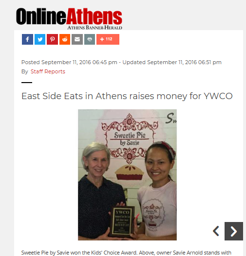 September 2016, Athens Banner-Herald