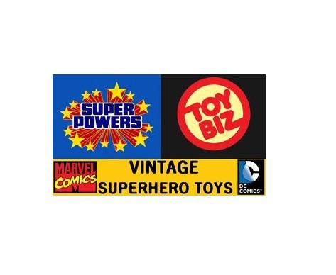 Vintage Super Hero Toys