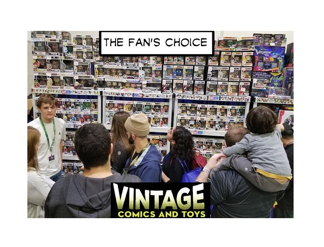 Vintage Comics And Toys
