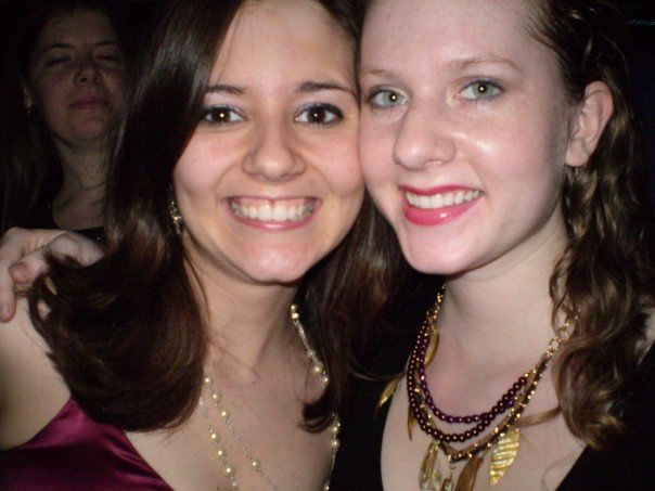 This is us 10-ish years ago for Stephanie's 21st birthday. Babies!