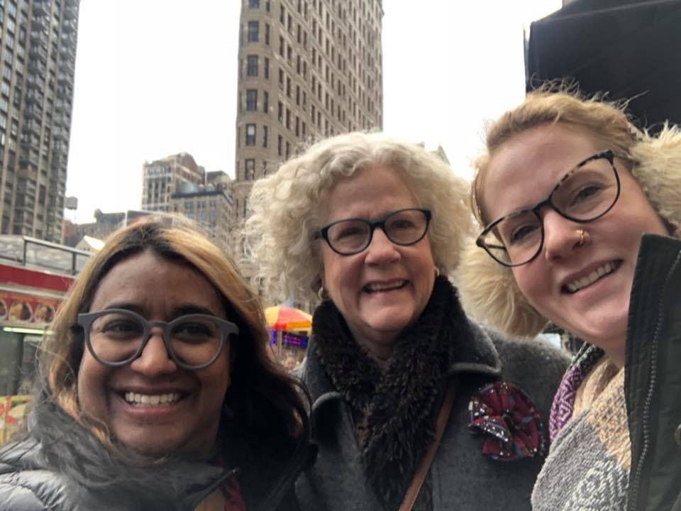 Sarah, Mom, and me from their recent NYC visit.