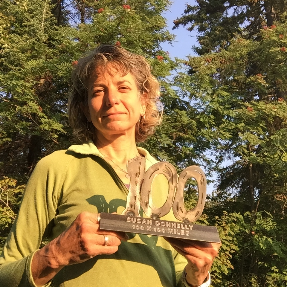Susan Donnelly finishes 100 100-mile ultramarathon races at Superior 100