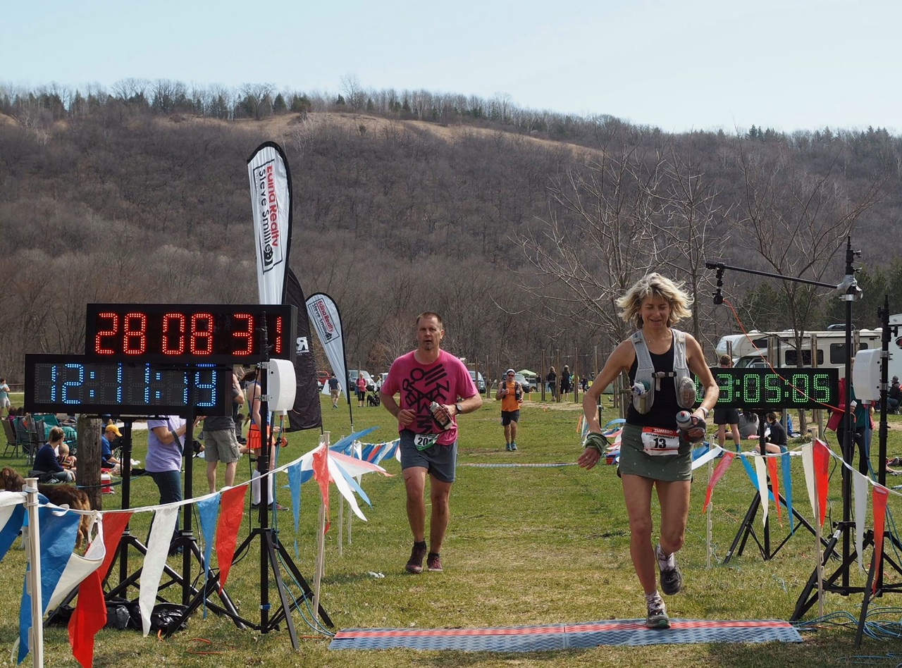 Ultramarathon mindset coach Susan Donnelly finishes running Zumbro 100-mile ultramarathon