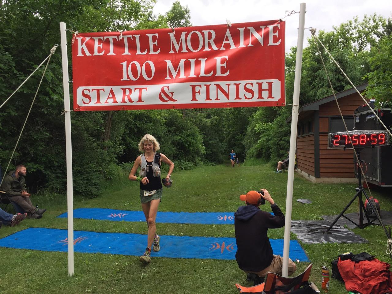Ultramarathon mindset coach Susan Donnelly finishes Kettle Moraine 100-mile race despite crazy odds