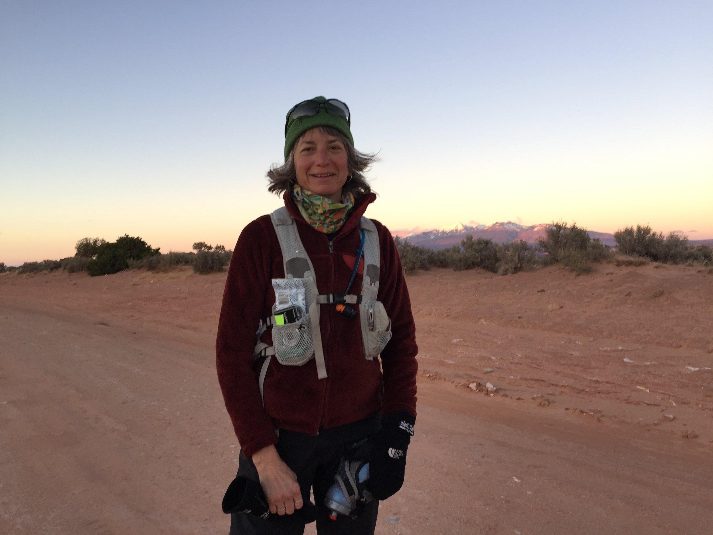 Susan Donnelly at Moab 240 mile ultramarathon endurance race