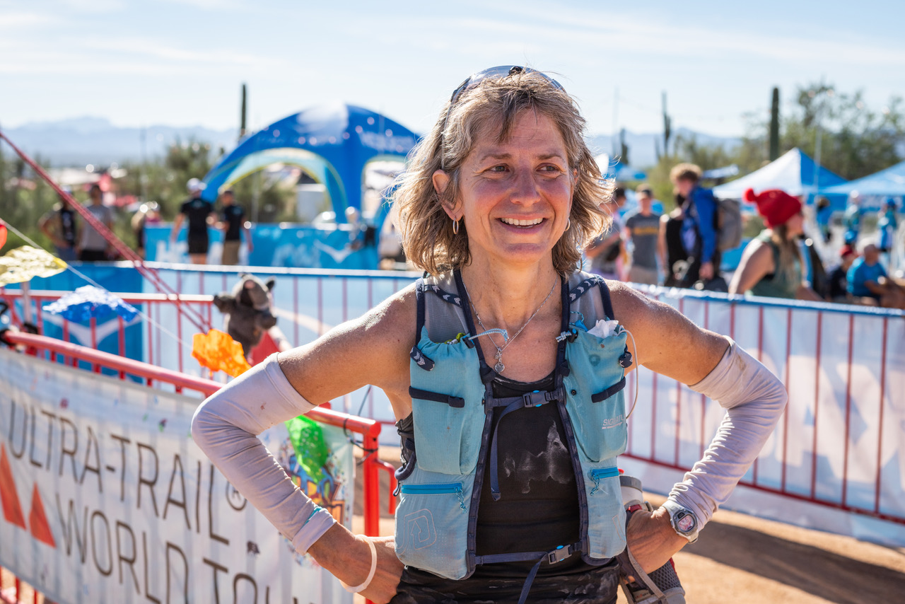 Susan Donnelly at Javelina 100