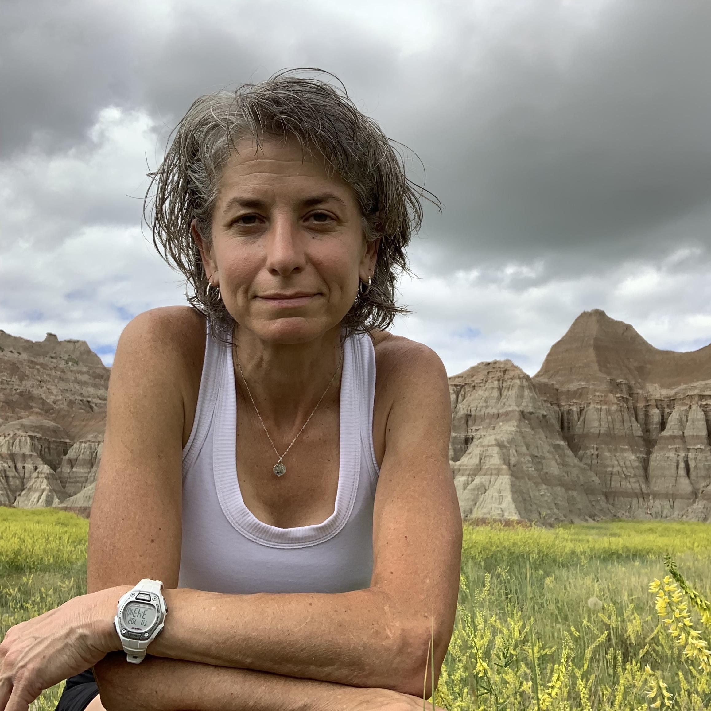Susan Donnelly after Black Hills 100.