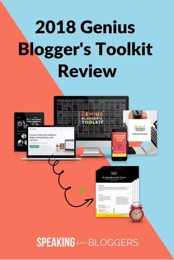 Genius Blogger's Tool Review 2018- Find out if this ultimate bundle is right for you. #bloggers #speakingforbloggers #GBTK