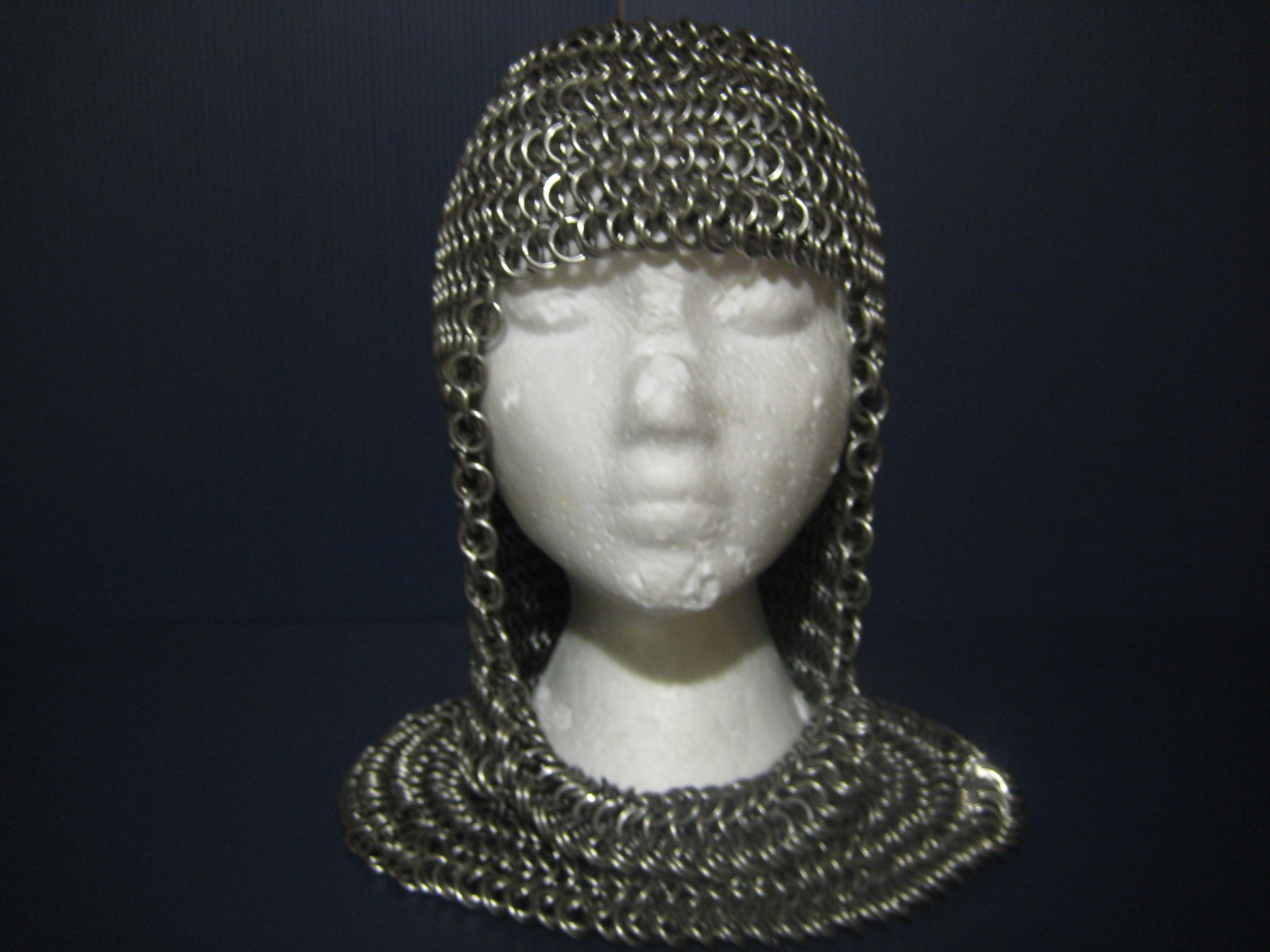 Stainless Chainmail Coif