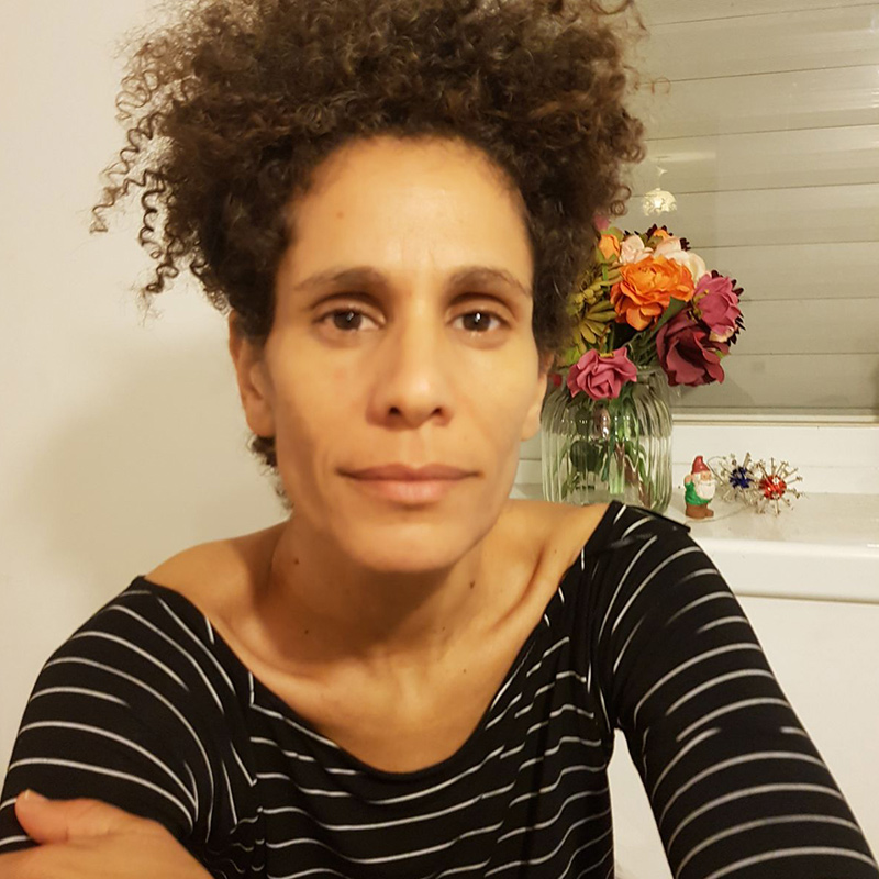 """Fefe Ifat Simhi - producer""""She's gone is one painful journey, that includes a meeting with the families whose loved ones are gone ... I had the right to be part of this project and to voice the voices that is gone."""""""