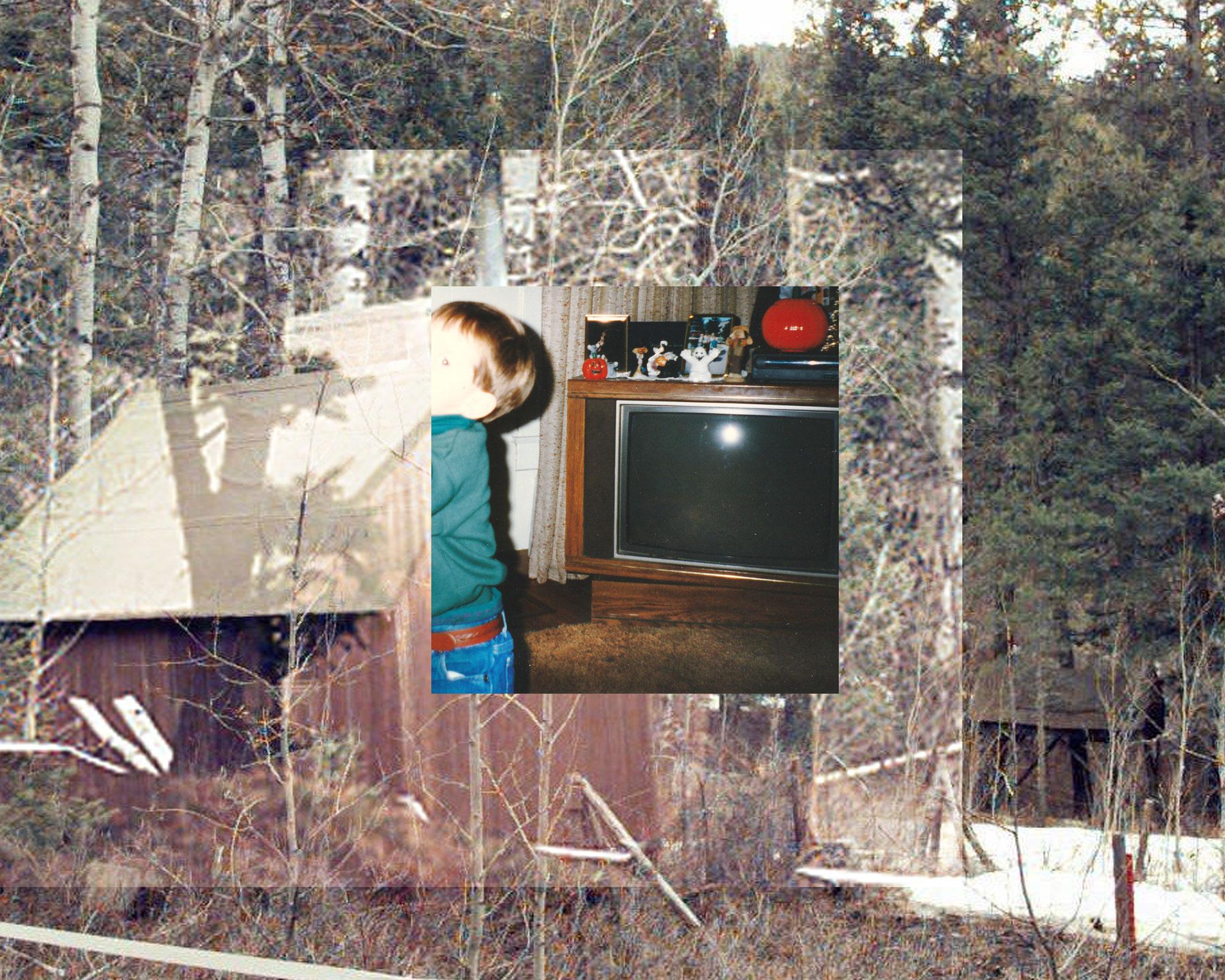 1996 (2 Layers of Ted Kaczynski's cabin)