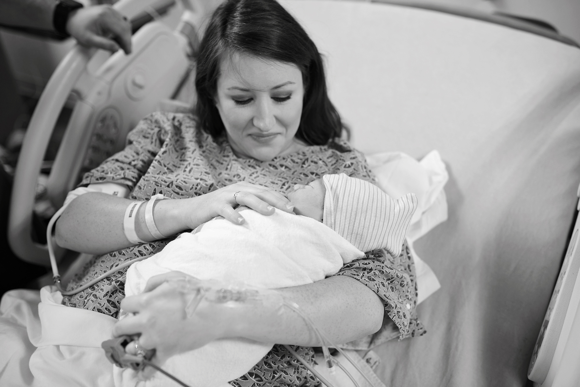 A rainbow baby birth story at Navicent Health Macon Georgia