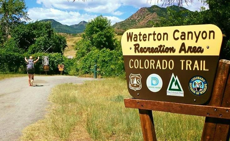 Day 1:  I took off midday on July 6, 2016, from Waterton Canyon just outside of Denver – happy tears streaming down my cheeks as I left work and responsibility behind. Later in the day, I squared off with a bachelor herd of aggressive bighorn sheep. I had to yell and wave my trekking poles to make them back off.  Daily mileage: 8.7.