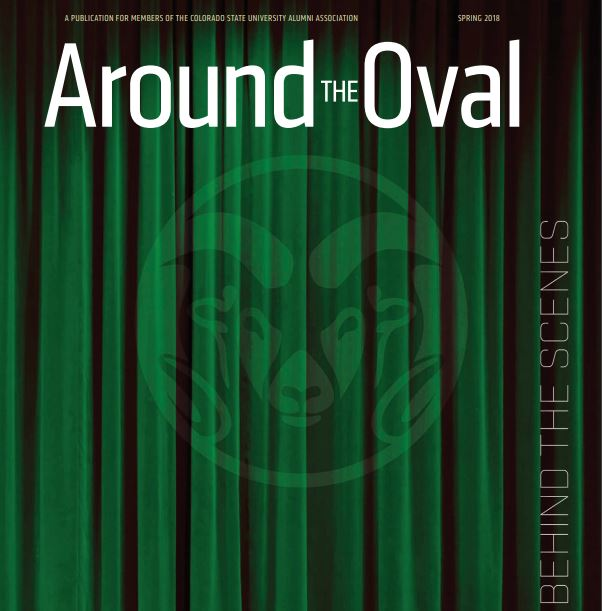 Around the Oval Magazine, Spring 2018