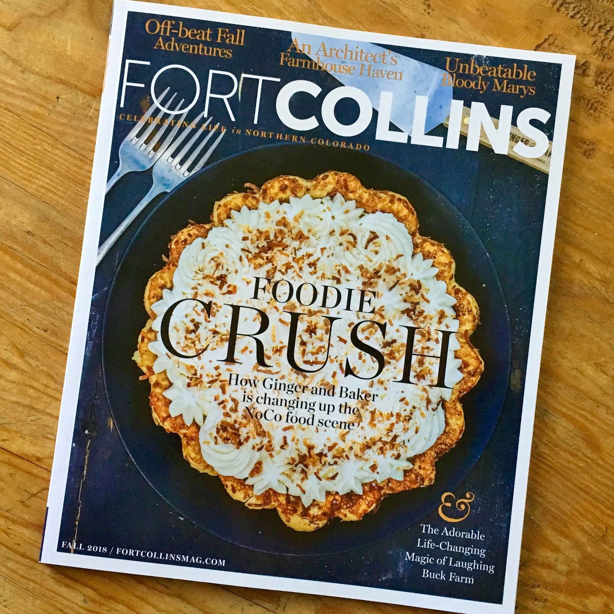 """Saving Room for Pie"" by Becky Jensen Fort Collins Magazine Fall 2018"
