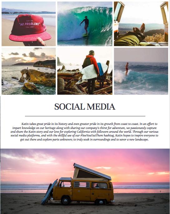 Katin social media catalog copy.