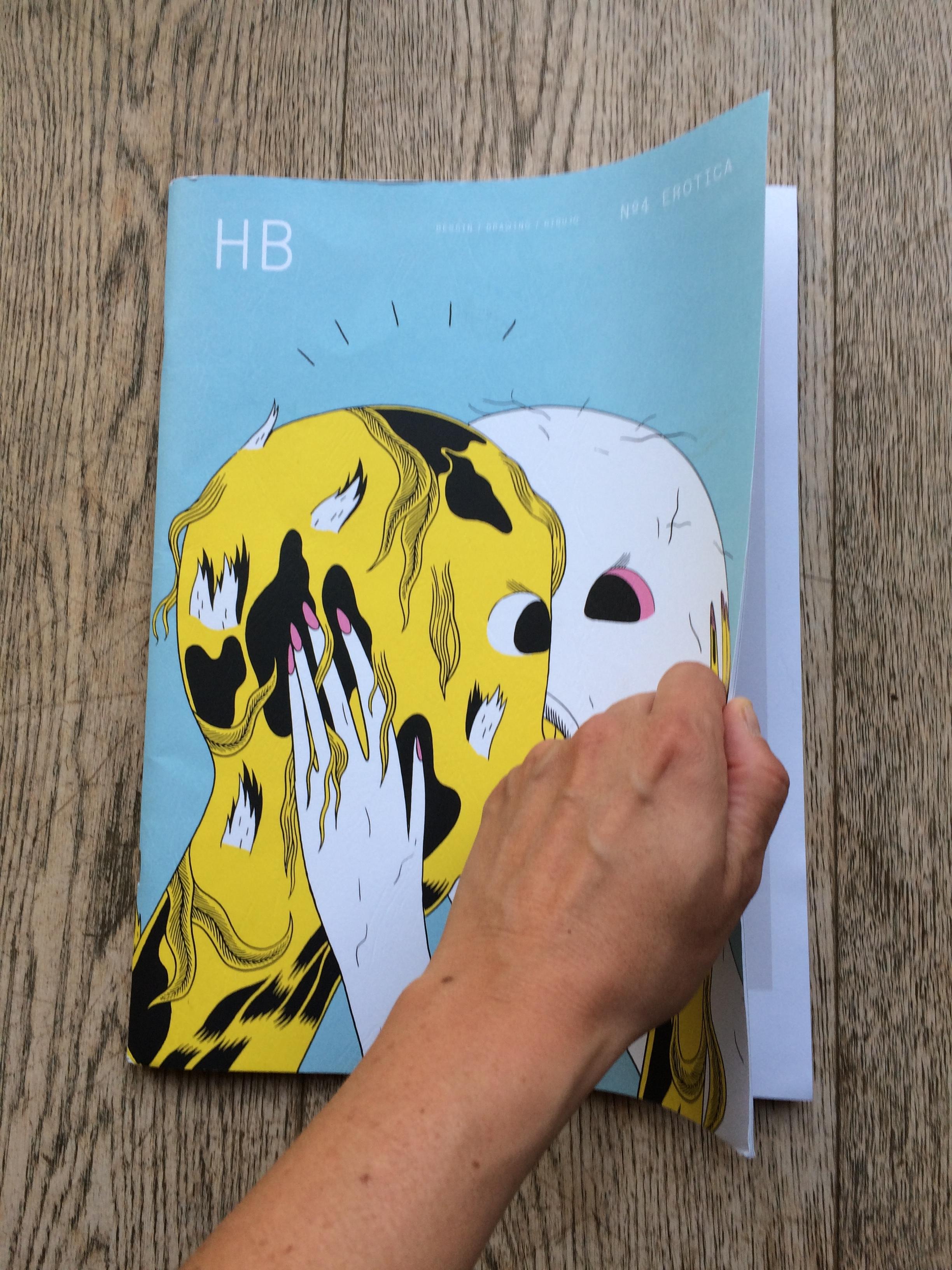 portfolio revue HB dessin/drawing