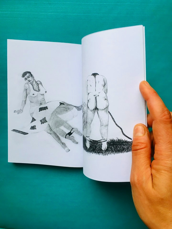 CHAUDES,  fanzine de dessins homo-pornos 🍌