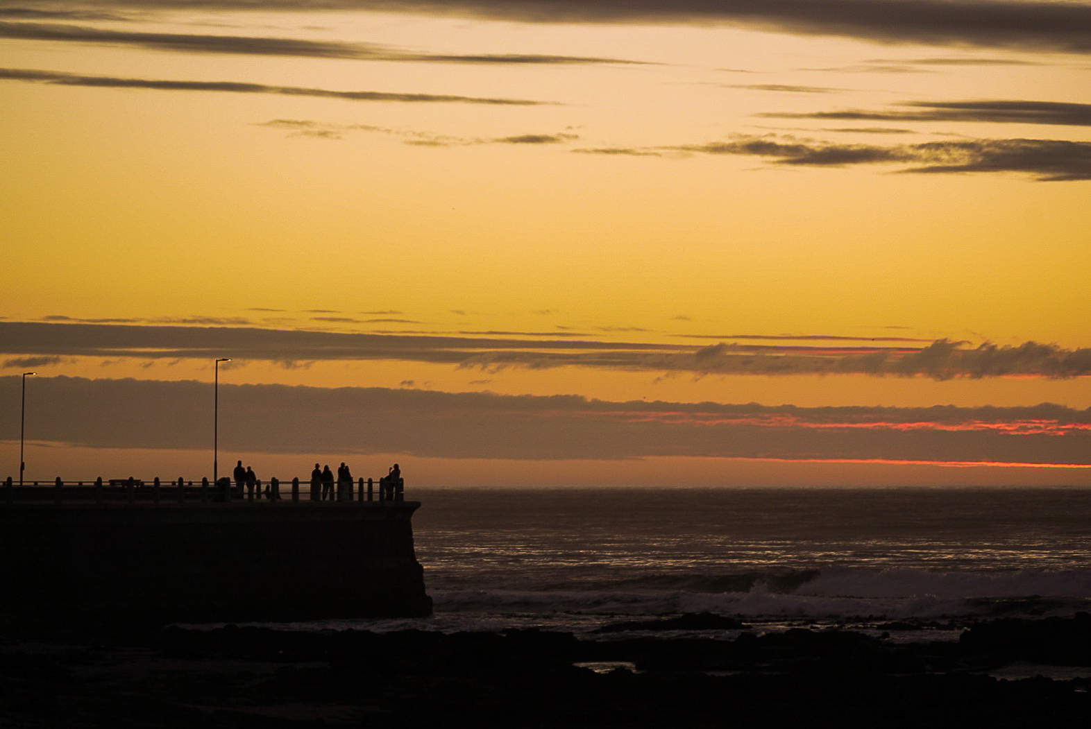 Sunset at Mouille Point
