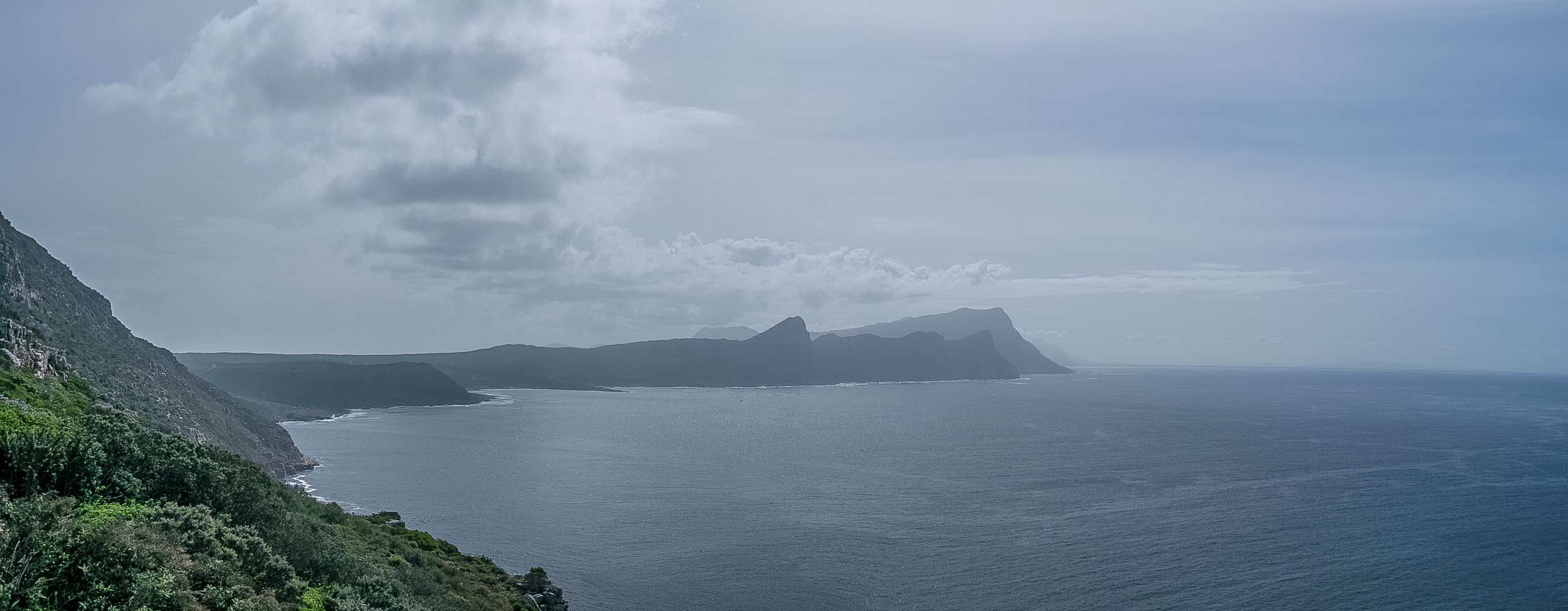 Looking Northerly from Cape Point