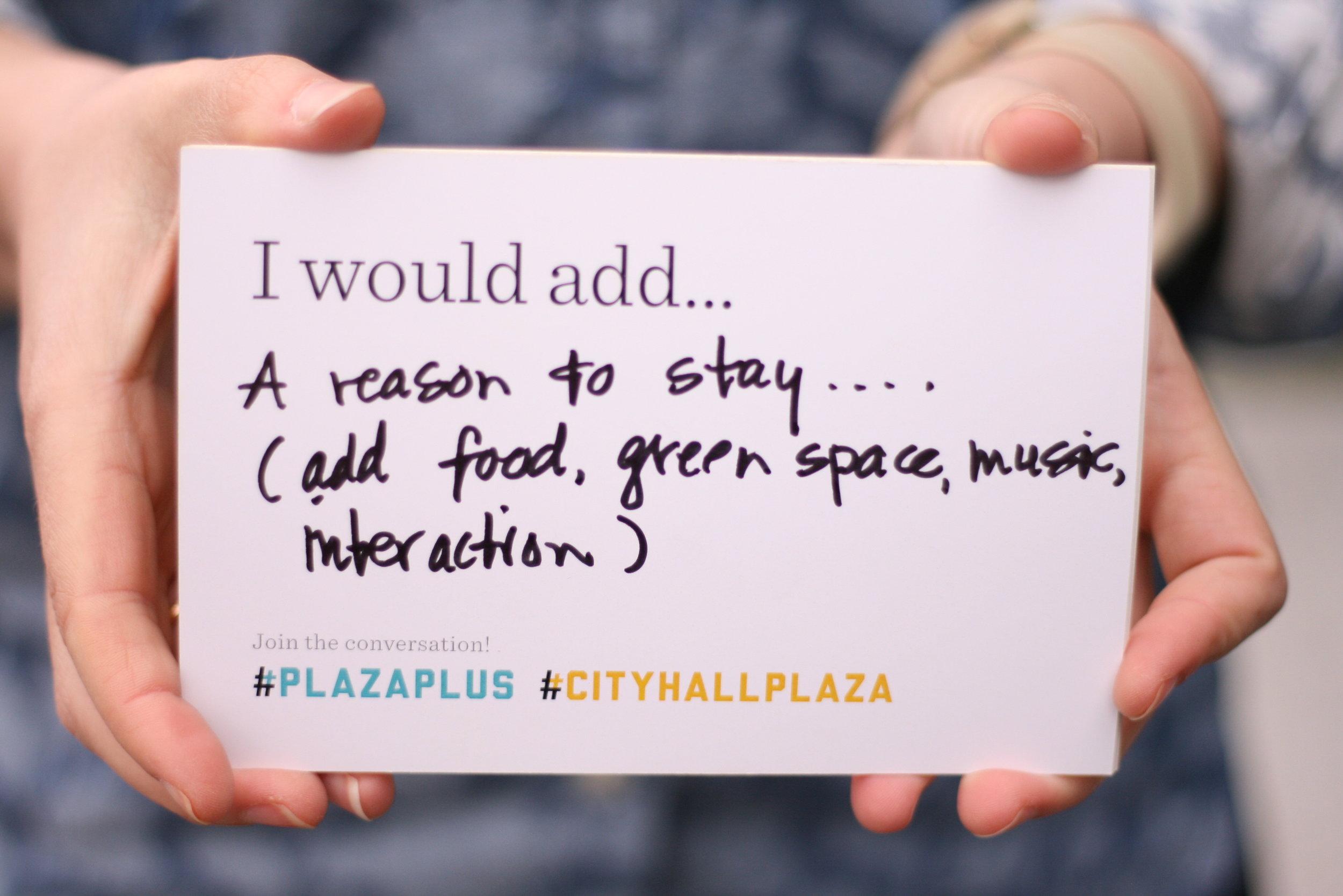 #PlazaPlus Reason to Stay.JPG