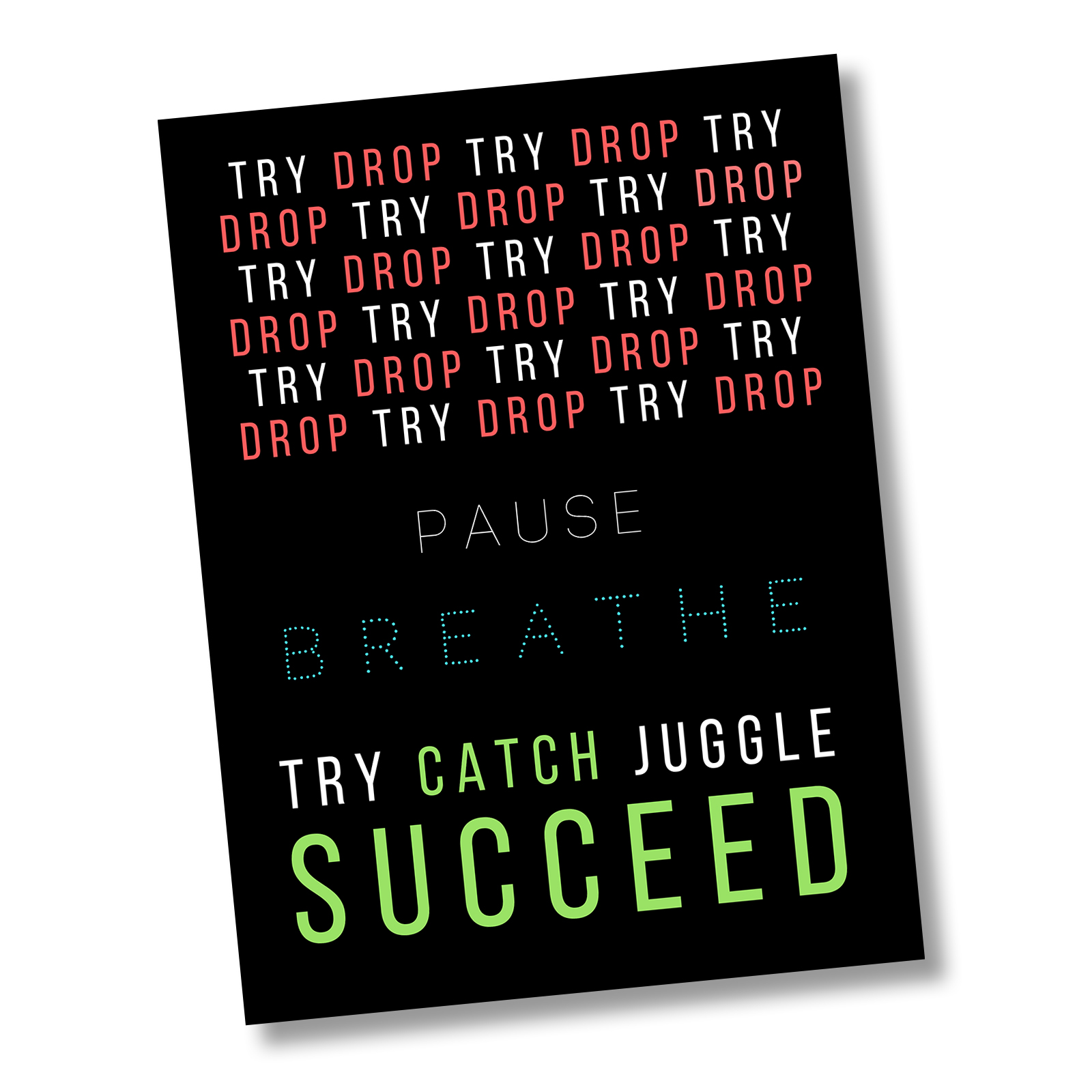 """The """"Path to Success"""" Collection: Inspire Your Team to Never Give Up and Achieve Their Goals!"""