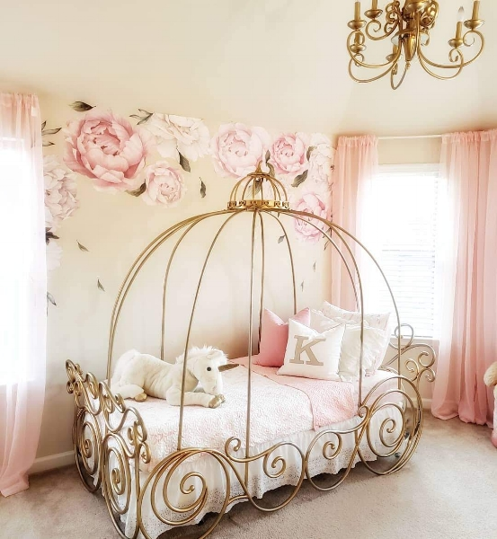 FRENCH PRINCESS GIRL\'S BEDROOM — Decor For Kids