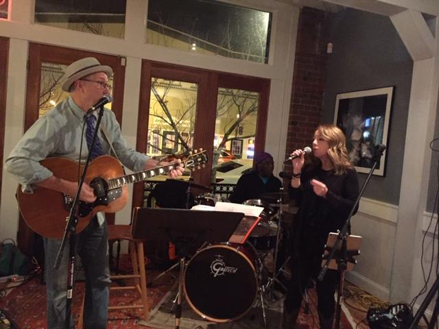 A recent gig at Quattros with Hilory at the singing helm