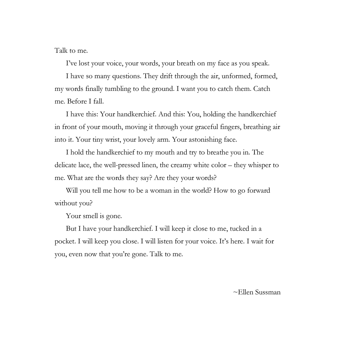 Talk to me by Ellen Sussman.jpg