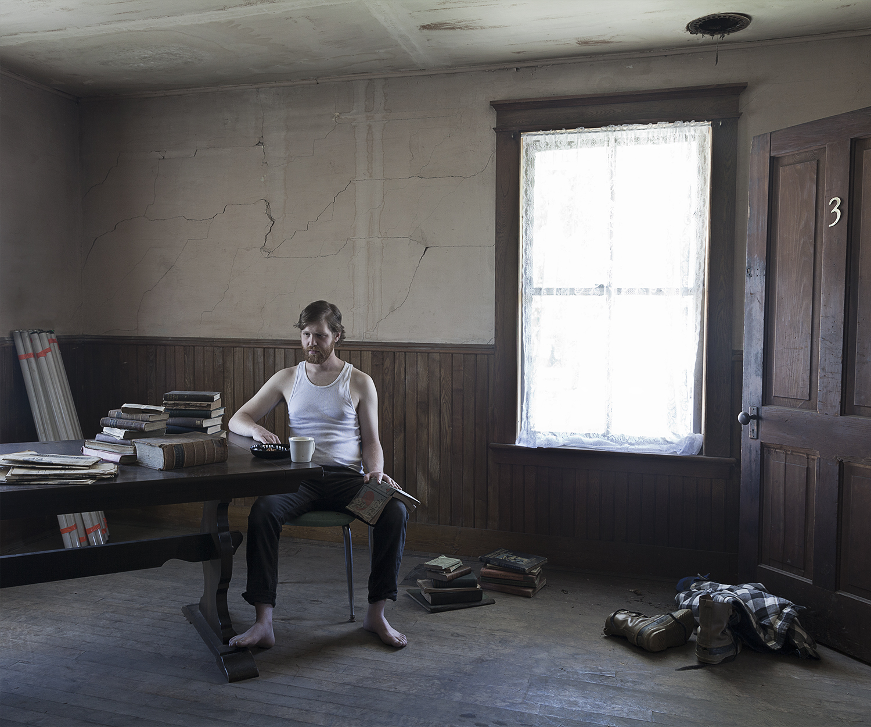 Untitled - Man in Room 3, Eden, VT 2014