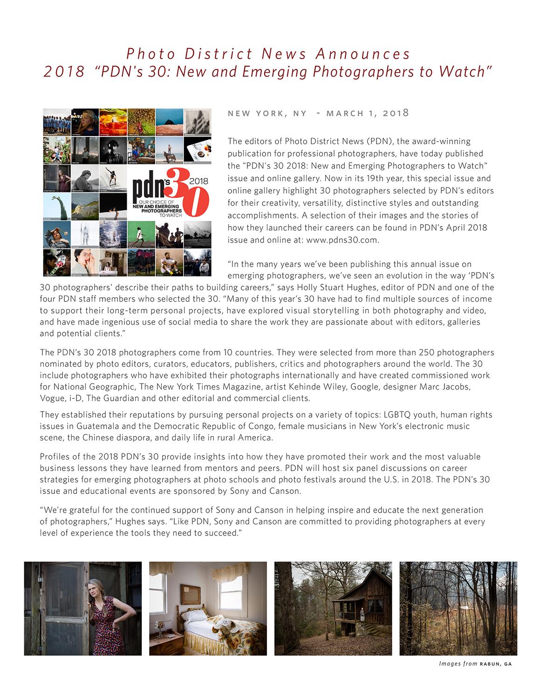 PDN 30 2018 Press Release-1.jpg