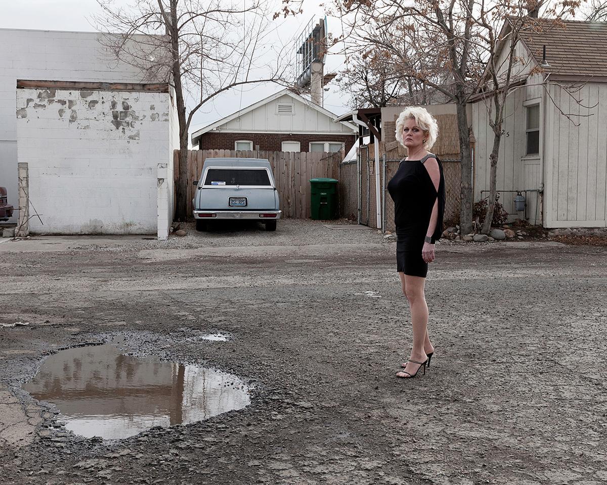 Untitled - Woman Passing, Reno, NV