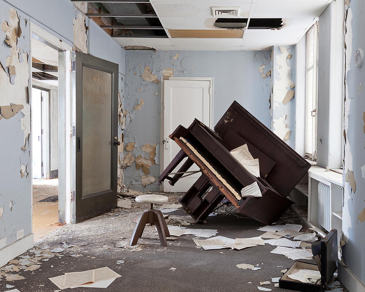 Untitled - Piano Room, Detroit, MI