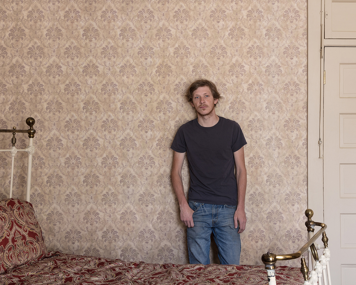 Untitled - Young Man in Bedroom, Buffalo, WY