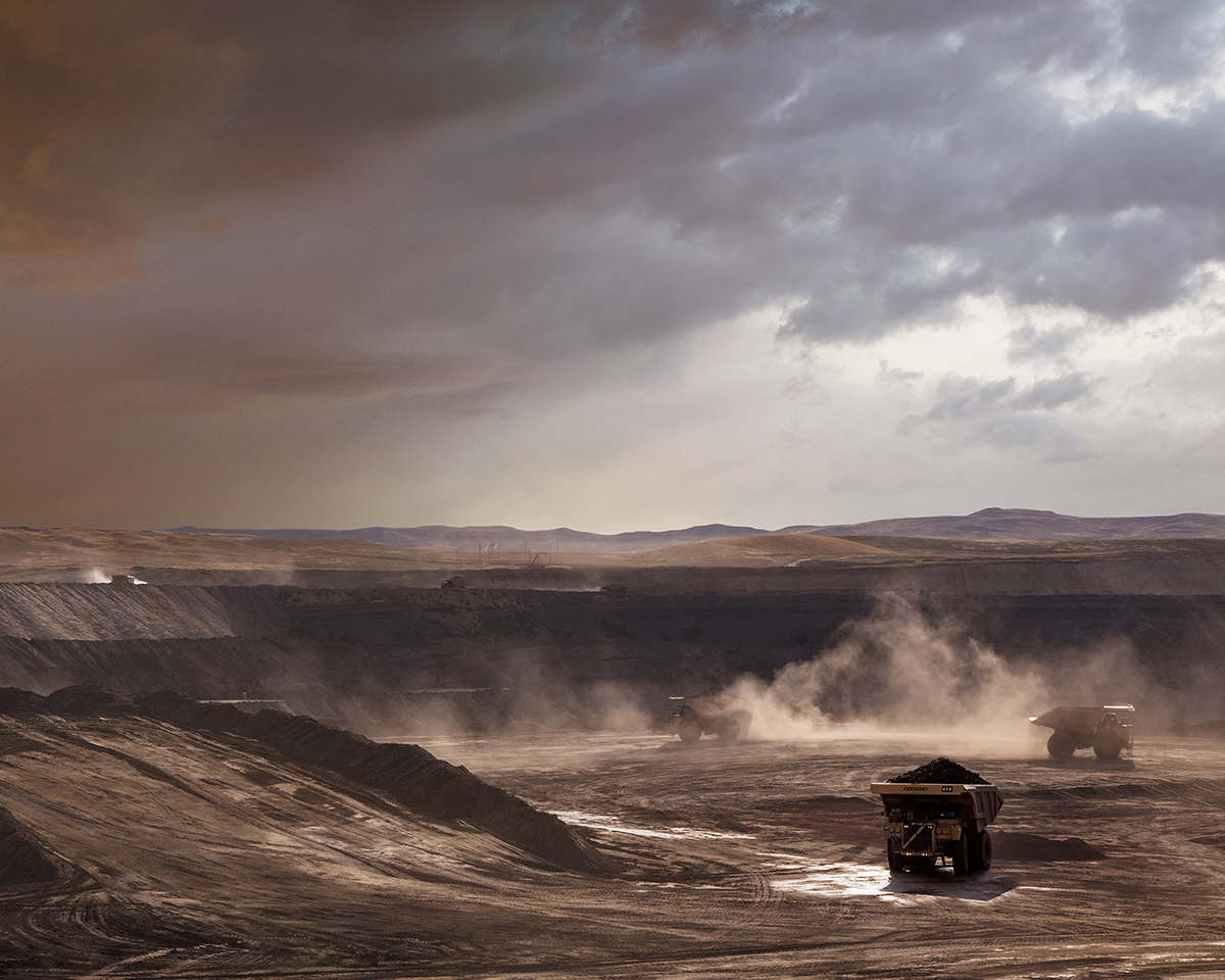Untitled - Coal Mine, Buffalo, WY