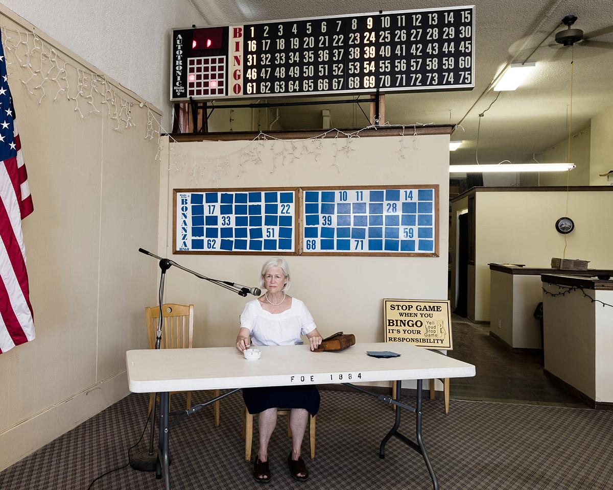 Untitled - Bingo Caller, Buffalo, WY