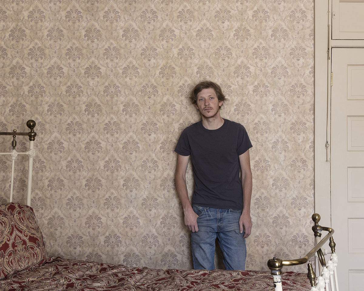 Untitled - Young Man in Bedroom