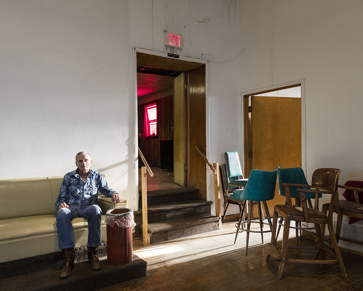 Untitled - Man in Lobby