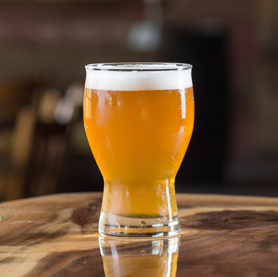 Right Track IPA   Citra, Centennial, and Equinox hops are used at the end of the boil and dry hop additions to pack citrus and tropical fruit flavors into this clean, American IPA.