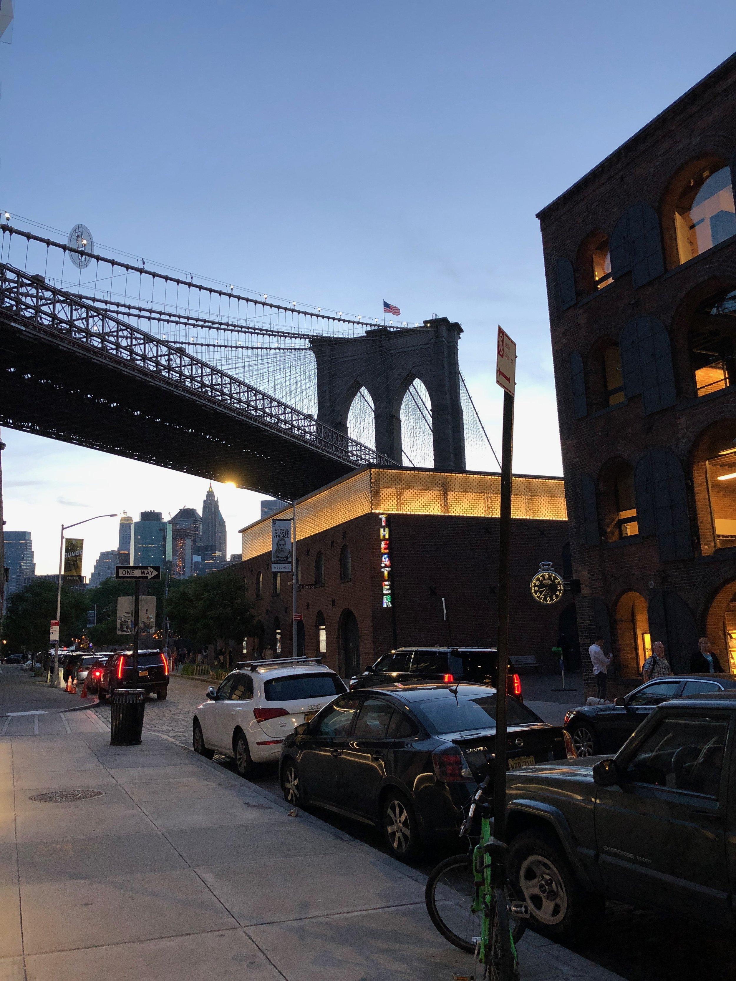Shot in DUMBO (Down Under the Manhattan Bridge Overpass)