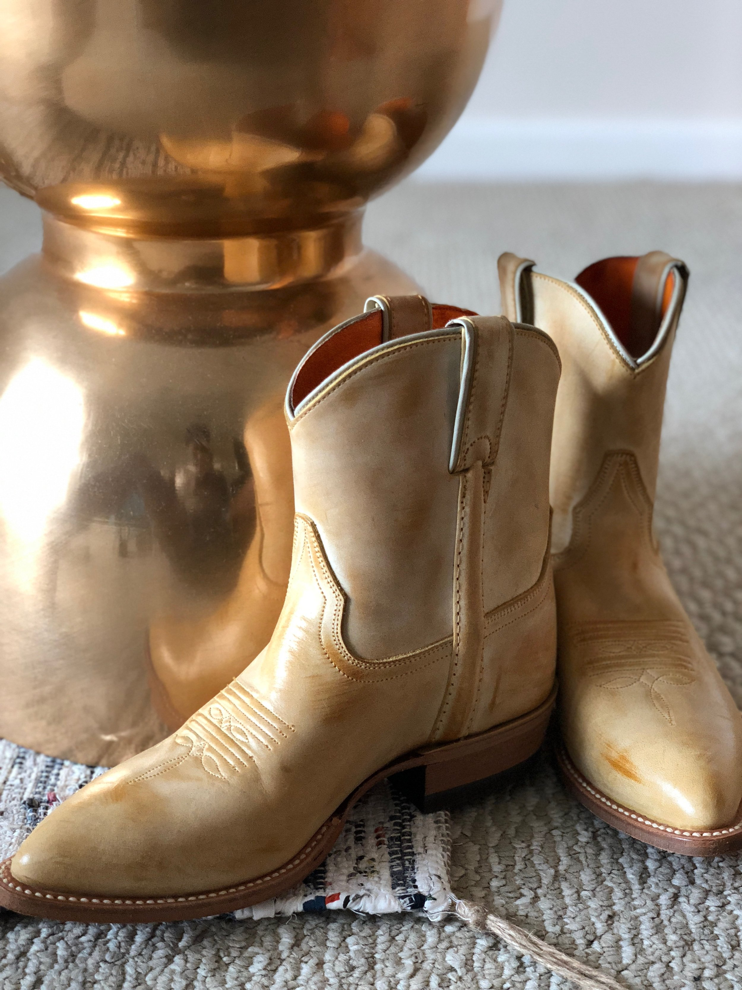 Western Style  Frye Boots
