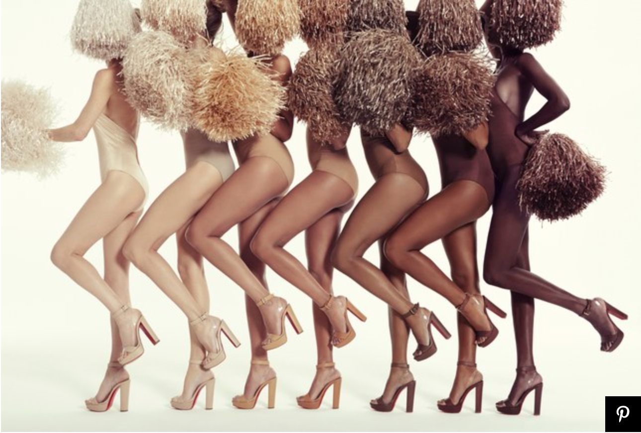 Christian Louboutin figured it out!